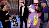 They also talk to Damien Sandow.
