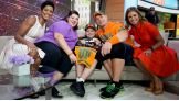 """John Cena surprises Rocco Lanzer on NBC's """"Today."""" Rocco is the 500th honoree Cena has granted a wish to through Make-A-Wish."""