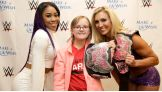 Gabby meets Cameron and Divas Champion Charlotte.