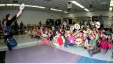 """""""I know a great way to be a good friend,"""" Sheamus says, then asks the children the ways to be a good friend."""