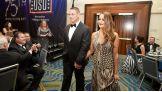 WWE Superstars John Cena and Nikki Bella.