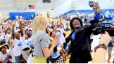 WWE and NXT Superstars and Divas host a Be a STAR rally in Orlando, Fla.