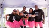 Alicia Fox, Natalya, Tamina and The Prime Time Players host a Susan G. Komen Health Fair during SummerSlam Week.