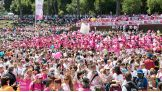 More than 50,000 Komen supporters were in attendance at the Race for the Cure in Rome!