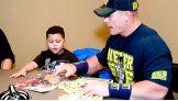 John Cena meets WWE Circle of Champions honoree, Juan.