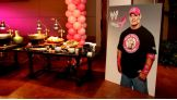 WWE hosts a VIP reception for Susan G. Komen for the Cure honorees in Dallas.