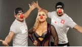 Superstars and Divas get into the spirit of Red Nose Day, NBC's new campaign dedicated to raising money for children and young people living in poverty, by simply having fun and making people laugh.