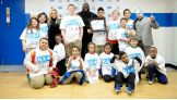 Mark Henry, Kalisto and Natalya host a Be a STAR rally at Keenan-Stahl Boys & Girls Club in Indianapolis.