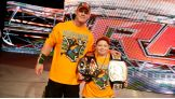 Make-A-Wish honored Cena for his wish-granting efforts on Aug. 21 at Dave & Buster's in New York City.