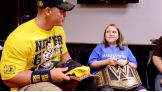 WWE Champion John Cena chats with Kelsey.