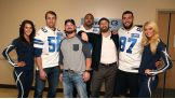 Dallas Cowboys Sean Lee, Mark Nzeocha and Geoff Swaim join WWE Superstars in visiting local children's hospitals in Dallas.