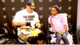 Cena meets Kquatracciya in Grand Rapids, Mich., before Raw.
