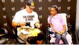 Cena meets Kquatracciya in Grand Rapids, Mich., before Raw.