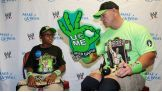 John Cena meets Khaleb before Raw in Greenville, S.C.