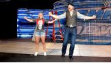 United States Champion Sheamus shows Kristi how to make an entrance on SmackDown.