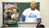 Antonio Cesaro kicks of a Be a STAR rally in Germany.
