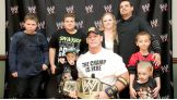 Isaiah and his family traveled from California to meet John Cena and watch Monday Night Raw live in Virginia.