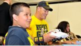 Before Raw in Baltimore, WWE Champion John Cena took time to meet two very special fans.