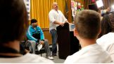 Tensai shares some of his personal stories about being bullied.
