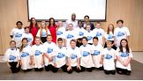 The Bella Twins and The Prime Time Players host a Be a STAR rally for students in Glasgow, Scotland.