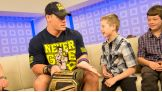 Cena encourages the WWE Universe to go to wish.org/wwe to help children's wishes come true by donating airline miles to Make-A-Wish.