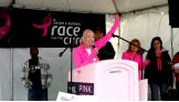 """Komen and WWE have partnered for an awareness campaign, """"Make Mom Proud,"""" to support the fight against breast cancer."""