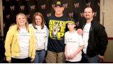 John Cena meets Brandon, 12, of  Children's Wish Foundation of Canada.