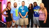 Superstars and Divas meet Special Olympics Connecticut athletes.
