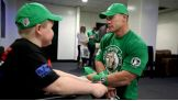 John Cena brings smiles to Circle of Champions honorees in Manchester, England.