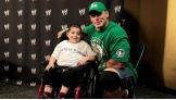 Cena first met Jonathan during Raw SuperShow in Uniondale, N.Y., Monday night.