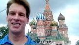 JBL at St. Basil's Cathedral in Moscow.