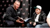 Randy Orton meets one of WWE's newest Circle of Champions honorees, Marco.