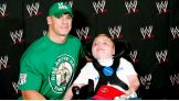 Jack Crawford smiles with his favorite WWE Superstar, John Cena.