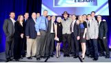 WWE Hall of Famer Sgt. Slaughter joins other special guests, athletes and celebrities at the MDA Muscle Team Gala in Boston on Jan. 10, 2013.