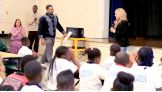 David Otunga joins the Diva for the be a STAR rally in Charleston, S.C.