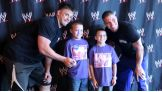 WWE and Party City host a pizza party for Make-A-Wish kids July 15 before the Money in the Bank pay-per-view!