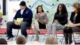 WWE and Pearson Foundation host a reading celebration at Pennington Elementary School in Nashville, Tenn.