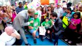 """Cena tells """"Good Morning America's"""" Sam Champion that Jonathan is the WWE Superstar's 300th wish, and the latest granted during WWE's proud 25-year association with Make-A-Wish."""