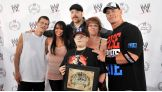 The Superstars hang with John Cena's special guest, Dylan, and his family.