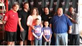 Dylan and his family meet some of their favorite Superstars.