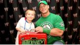 David, 8, meets his favorite Superstar before Raw's 1,000th episode.