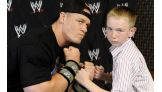 The Superstar faces Make-A-Wish's Alex Severinghaus, 12, of Niles, Mich.