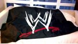 """""""Here's my @wwe flag I'll be taking to the top of the world."""" from @JCLayfield on Twitter."""