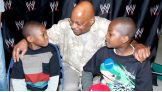 Kaisean and his family meet other WWE Superstars, such as Teddy Long.