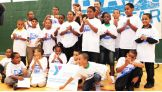 Superstar David Otunga and WWE Executive Vice President of Creative Stephanie McMahon led a be a STAR rally at the Wilson-Gray Youth and Family Center in Hartford, Conn.