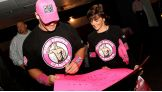 At the end of October, which is Breast Cancer Awareness Month, WWE gave a huge donation to Komen.
