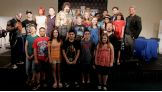 The guest Superstars pose with all 20 finalists from across the US and Canada.