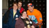 The 18-year-old traveled to Knoxville, Tenn., with her family to meet Cena.