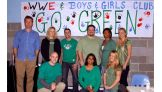 WWE employees go green for Earth Day at the Boys & Girls Club.