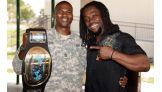 WWE has been a strong supporter of the United States Armed Forces.